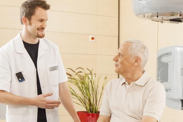 Консультация онколога перед лучевой терапией