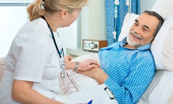 восстановление после облучения предстательной железы