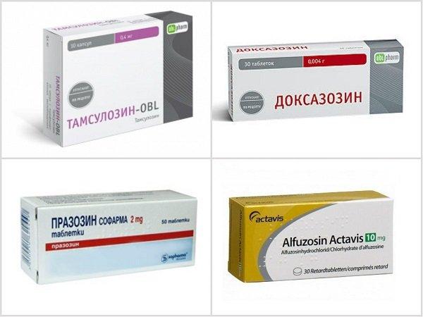 тамсулозин и другие препараты