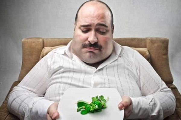 погрешности в питании у мужчин