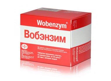 Применение Вобэнзима при простатите