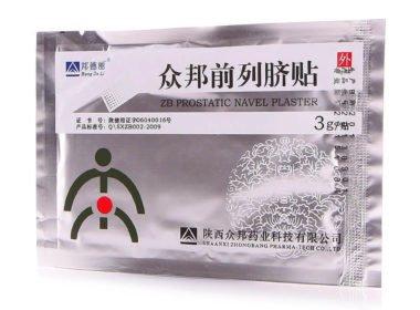 Применение пластыря ZB Prostatic Navel Plaster от простатита