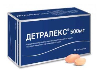 Как принимать Детралекс при лечении простатита