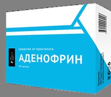 Аденофрин - от простатита
