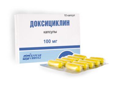 Применение Доксициклина при простатите