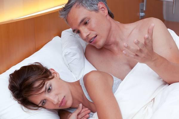 нарушения в интимной жизни