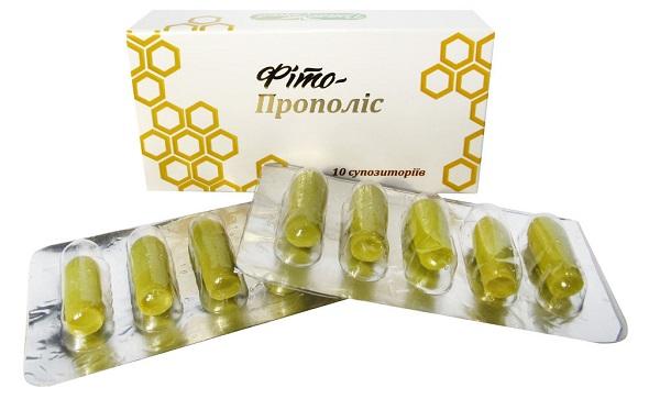 Эффективные свечи с прополисом от простатита