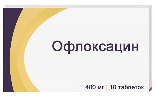 Применение Офлоксацина при простатите